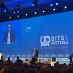"""""""We want to become the biggest and coolest start-up-conference of the world"""": @BerndStorm @bitsandpretzels #bits16 https://t.co/ooeiq2MbCv"""