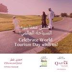 احتفل بــ #WTD2016 في #قطر من 27 سبتمبر - 1 أكتوبر، اكتشف روائع #قطر السياحية وشاركنا صورك عبر #هذي_قطر لتفوز بجوائز رائعة! https://t.co/dSXqQoOKpK