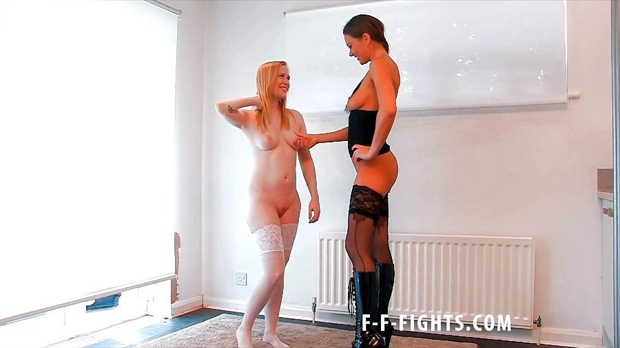 1 pic. New #CatFight #Dom #Sub #LesbianFight #Stockings #Boots with on: HgMNXLX3f2