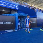 Saltan los dos equipos!! #LeganésValencia #VamosLega https://t.co/Ei4gS12JrZ
