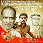Our heartful respect to F. V. Arul #S3 #DuraiSingam #Dec16 #Singam3  @Suriya_offl @rajsekarpandian @StudioGreen2 https://t.co/g1PQgOOPGw