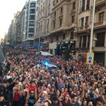 Gran Vía - Madrid - 23 de septiembre 2016 #DaniMartinLaMontañaRusa https://t.co/FLG82sIXbI