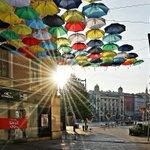 Barevné deštníky nad Českou ulicí dnes po osmé hodině ranní. https://t.co/0GjRxKLHS4 #deštníky #Česká #Brno https://t.co/66qkDnTSeB