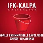 IFK-KalPa tiistaina klo 18.30 Nor-den-ski-öl-din-ka-dul-la. #HIFK #Stadi #bulilla https://t.co/oKqNLZoqI6