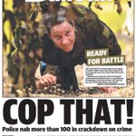 Mondays Townsville Bulletin front page. https://t.co/QlaE6LT0fU