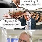"""""""Miten #perussuomalaiset liittyy natseihin?""""  #Immonen https://t.co/OdgmhEkeLL"""