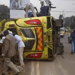 Four die, six injured in matatu accident
