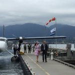 What a great way to arrive in the city! #RoyalVisitCanada https://t.co/NwDlTgSP7k
