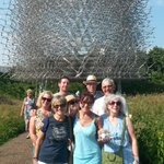 With Secret Garden Group in front of the Hive at Kew... #Hove https://t.co/lljREEnpuu