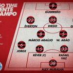 As opções de Zé Ricardo para o decorrer da partida #FLAxCRU https://t.co/A1BF0BZVVP