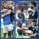 Esto es lo que el fútbol te deja amigos, compañeros de vivir un día a día @PatonGuzman @10APG un abrazo. JD8. https://t.co/7ZeGq1feBt