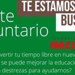 Hazte voluntario en @Hazlo_Tuyo @haztuvoz  #Xalapa https://t.co/VmnosHKFL4