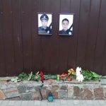 Днепряне несут цветы к управлению патрульной полиции https://t.co/u2ileoSm7c