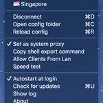 SpechtLite 这个 Swift 写的开源轮子不错,配置简单,功能够用。可以完美替代 cow 或 ShadowsocksX Mac 版。 https://t.co/DLFq0K7vt5 https://t.co/IZvt2ADh7g