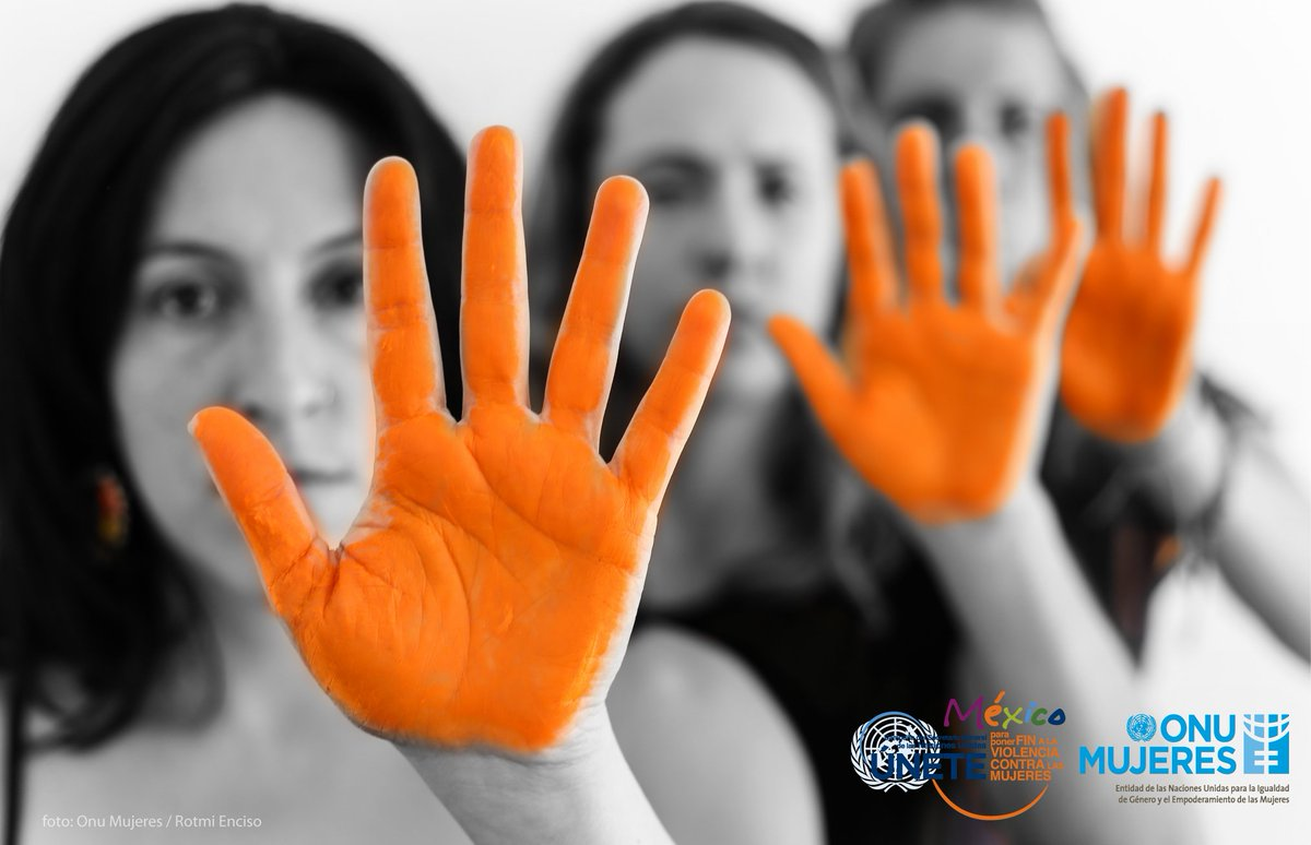 La violencia contra la mujer en todas sus formas es una violación a los Derechos Humanos #DíaNaranja https://t.co/X5T1kCCgJv