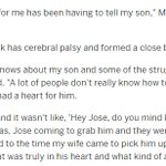 Remembering Jose Fernandez, Casey McGehee shared a very poignant story about his son.... https://t.co/MvpN9mBIRA https://t.co/dEboxu7t3x