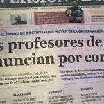 La #UniVe se está quedando sin profesores mientras el presunto Ministro de Educación Universitaria se dedica a nada. https://t.co/5vXpgh7zs9