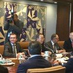 Trilateral on #Cyprus under aegis of #UNSG Ban Ki-moon still going on... @AnastasiadesCY @MustafaAkinci_1 https://t.co/NjimfXRzWB