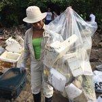 Participamos activamente en la jornada de limpieza de playas. Mas de 40 puntos a lo largo del país. #playasinbasura https://t.co/HEd41egLju