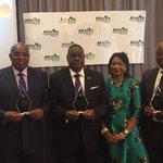 Governor Akinwnmi Ambode receives an award for Best Performing Governor in Nigeria @stevoree @AkinwunmiAmbode https://t.co/PoHiEWgbxi