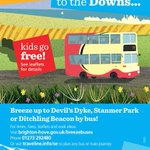 Traveling up to the Downs by @BrightonHoveBus? #kidsgofree details here. https://t.co/zrrMGB1llL #Brighton https://t.co/oV3AiWEbYM