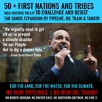 80+ First Nations to @JustinTrudeau: Stop the #tarsands, #KeepItInTheGround https://t.co/q6nBbvLms2 #ActOnClimate #energyeast #KinderMorgan https://t.co/BPLK53CHj0