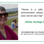 Day 18 of 40 Tenant Tweets, Sheila from Heritage Gardens says... #HHS40years #affordablehousing #yyc https://t.co/Up41XUSX77