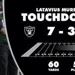 A 60-yard drive capped off by @LataviusMs 22-yard TD run. #OAKvsTEN https://t.co/sCjw4M5yuk