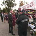 Prince William and Sophie Gregoire Trudeau speaking with first responders #ctvroyals https://t.co/3sC4W4i77L