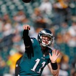 Carson Wentz & the Eagles are the ONLY team in the NFL with 0 turnovers on offense #FlyEaglesFly https://t.co/U7Qt6ooh9Q