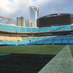 Silent stadium following Panthers 1st home loss since 2014. Join @philorbanWSOC9 on @wsoctv shortly for takeaways. https://t.co/tOG12lZfEZ