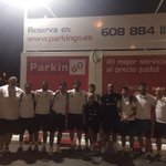 Llegamos a casa después de los dos partidos jugados en Peñíscola. Recogemos los coches de Parkingo, en Palma. https://t.co/qV75yWbEGO