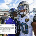 Jaguars rookie Jalen Ramsey had some choice words for Steve Smith Sr. 👀 https://t.co/kxCvosibWP