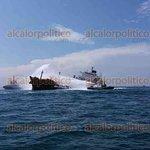 Apagan fuego en el buque #Burgos, en #Veracruz https://t.co/c37QyvfbrG https://t.co/P1iM6Tj4Xn