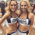 .@DCRB_Cassidy and @DCRB_Sammi are ready for Sunday Night Football!!! #CHIvsDAL #CowboysNation https://t.co/Ted2GwrUzn