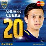 22ST Cambio en Boca. Sale Pablo Pérez, ingresa Andrés Cubas. https://t.co/ZNxBr8yxxp