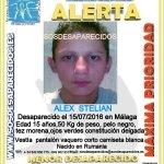 #Importante Este es Alex, un #menor #desaparecido en #Malaga  Si lo ves llámanos 📞062 📞091 📞112 Tu RT puede ayudarle https://t.co/QRtI1oV5Vy