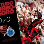 49 | 1ºT - Fim de primeira etapa. Flamengo e Cruzeiro vão empatando por 0x0 #VamosFlamengo #FLAxCRU https://t.co/gNfFgSUl0I