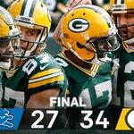 FINAL: @AaronRodgers12, @Packers get the WIN. #GoPackGo https://t.co/Jti9gsWFz8