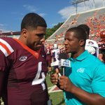 POWER 5 LEADERS PASS EFFICIENCY   1. 198.2 Mahomes (TTU) 2. 194.9 Browning (Wash) 3. 185.3 @rodfor6_ (VT) 🔥🔥🔥   #Hokies https://t.co/SAcCfqvD03