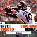 FINAL #Broncos 29, #Bengals 17 #DENvsCIN GameTracker: https://t.co/pWkjB0vhTO https://t.co/qMDljBMbWH