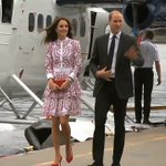 Watch Prince William and Kate arrive in Vancouver by float plane and greet crowds https://t.co/YY7yQmw0Qe https://t.co/OlguVQh5xY