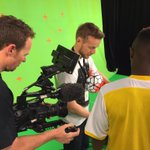 Stirling Sports Premiership Promo filming underway in Auckland #SSPremiership @ESAFC https://t.co/txIHJ871jE