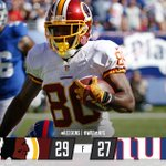 Thats the ball game. #HTTR #WASvsNYG https://t.co/23n1UvJCny