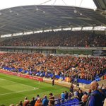 Bradford City at Bolton Wanderers yesterday #BCAFC #BANTAMS https://t.co/w2R2EFiZtf