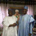 Senator Wamakko yeasterday visits Senator Danjumma Goje at his residence in Asokoro Abuja. https://t.co/0Cbgx59hri
