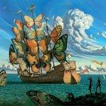 RT @ArtFeeIings: Salvador Dalí x Vladimir Kush https://t.co/q4RT9Fkwgr