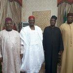 Friendly visit by Senator Rabi u Musa Kwankwaso to Senator Wamakko today at his residence Asokoro Abuja https://t.co/ZteVvWVA7N