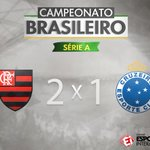 FIM DE PAPO! O @Flamengo bate o @Cruzeiro de virada com gol da vitória aos 44 do segundo tempo! #FLAxCRU https://t.co/icFbEWOJJ5