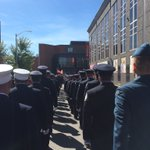 Proud to march with @KitchFire remembering those brave firefighters who have fallen so we could be safe https://t.co/o4Co4E8NqN